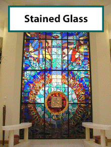 Stained glass repairs and manufacture